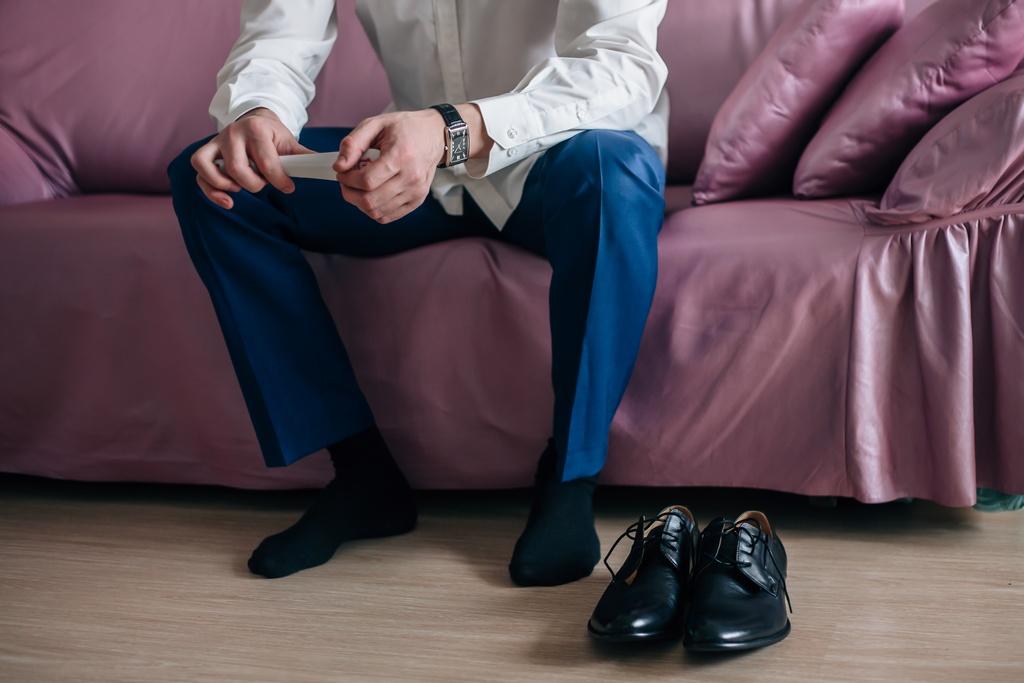 odpowiednie spodnie garniturowe