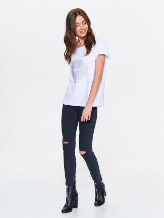 koszulka damska - t-shirt z nadrukiem